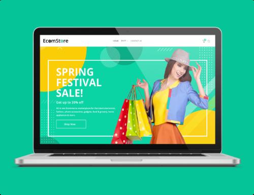 ecommerce-store Website